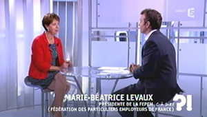 Interview dans l'emmission CAP 5 sur France 5